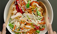 Zesty Asian Chicken Salad